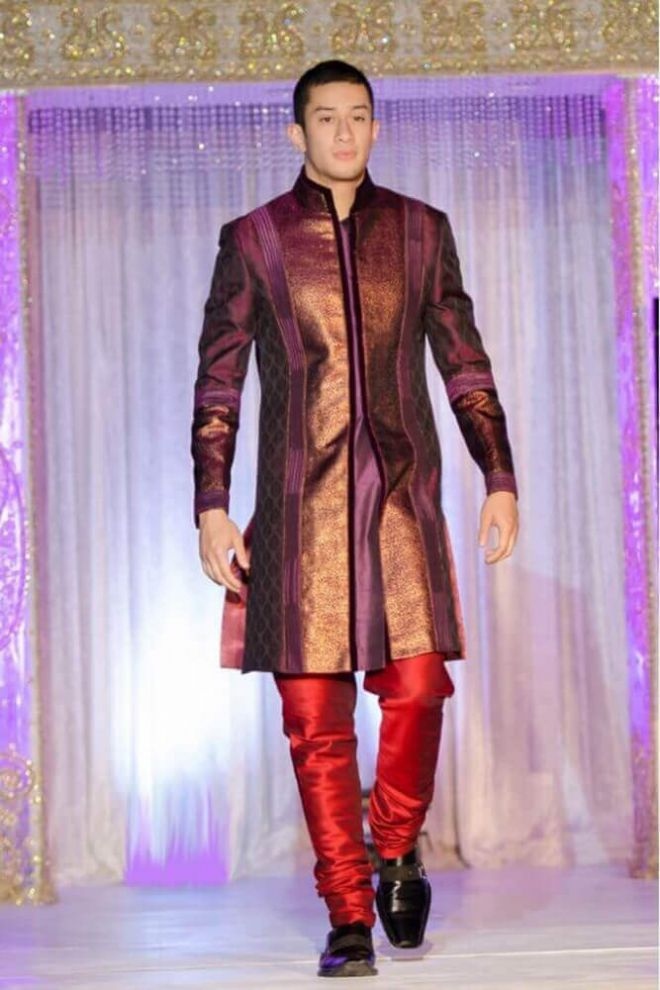 Purpler Copper Nehru Jacket