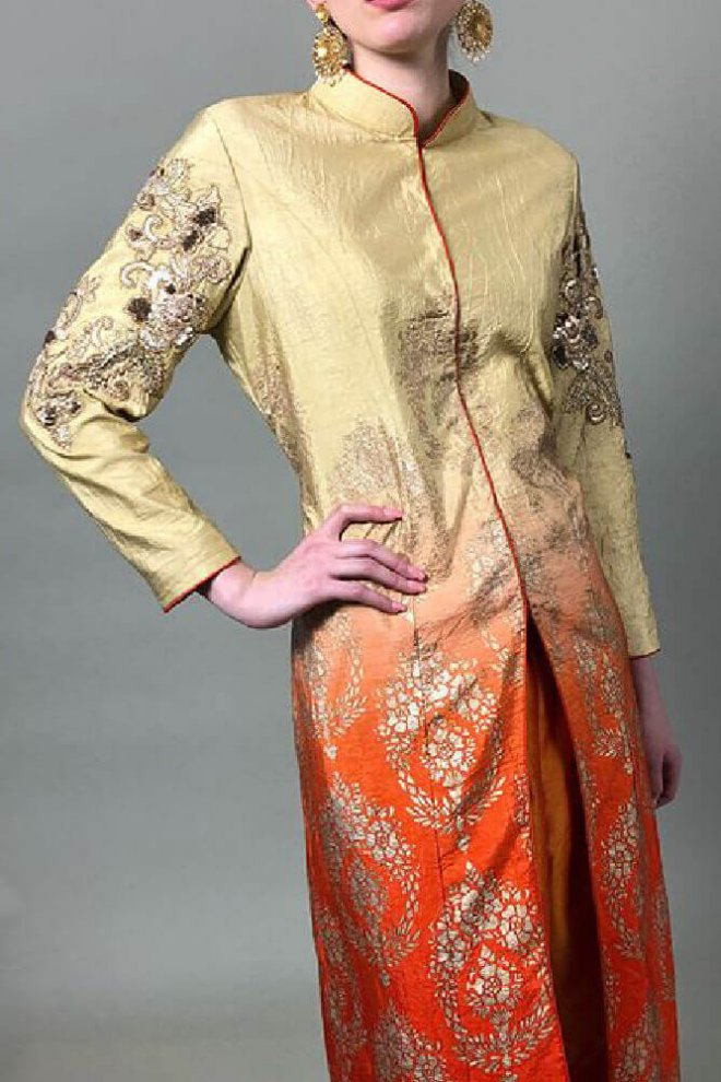 Ethnicwear-goldtrench-1